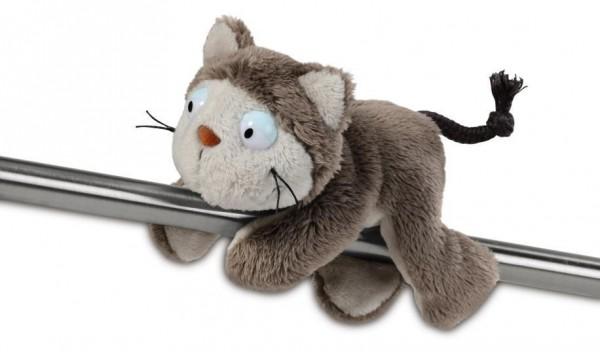 Nici 39020 MagNici Katze Lazy grau Comic Cats 12cm Plüsch