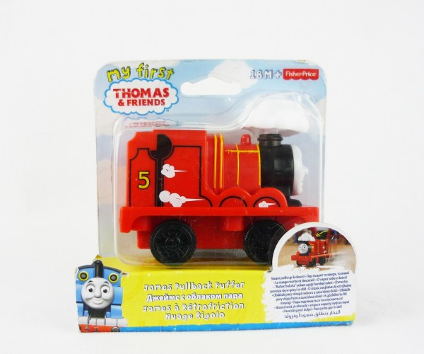 My First Thomas & Friends Rückzieh-Dampflok James 18m+