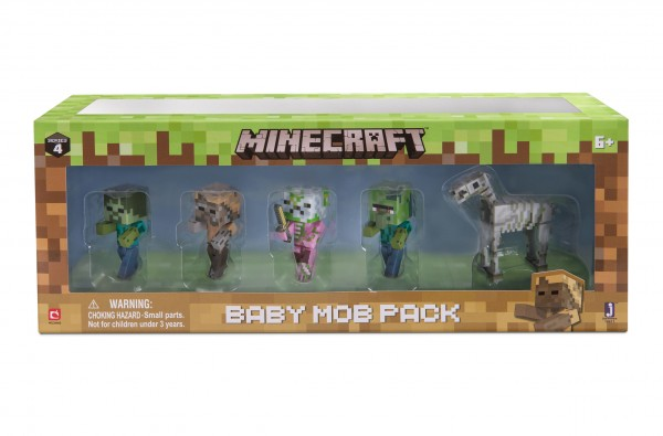 Minecraft Baby Mob Monster Pack Serie 4 Jazwares 16611