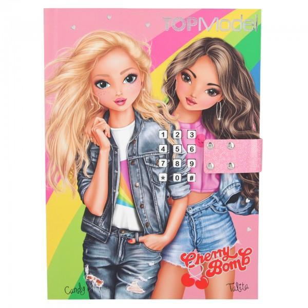 Depesche 11124 TOPModel Geheimcode Tagebuch mit Sound Cherry Bomb Candy