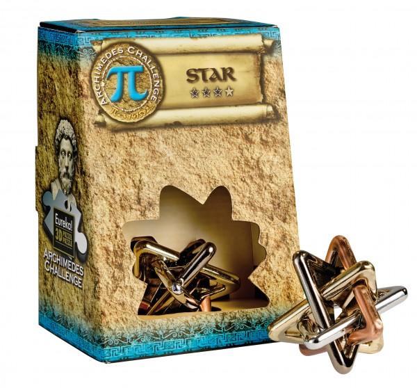 Eureka 3D Puzzle Metallpuzzle Archimedes` Star 473606