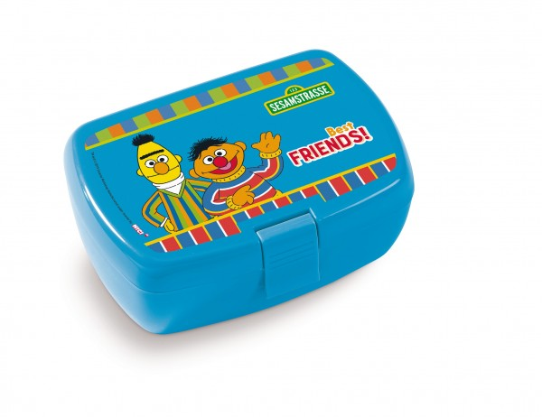 Nici 42959 Brotdose Lunchbox Erni & Bert Sesamstrasse 17x12x6,8cm