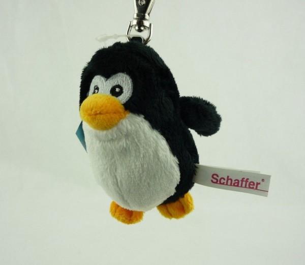 Schaffer 0211 Schlüsselanhänger Plüsch Pinguin Pingi ca 10cm