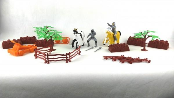 Kinderspielset Ritter im Reise-Eimer 26 Teile Wild Republic 22853