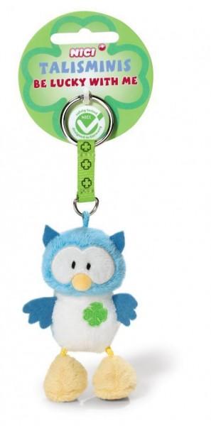 Nici 37391 Talisminis Schlüsselanhänger Keychain Eule Owl Plüsch 7cm