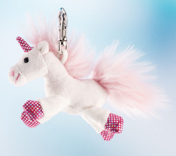 Schaffer 0221 Anhänger Schlüsselanhänger Unicorn Einhorn Shiny Plüsch Plush 10cm