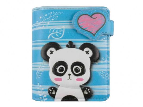 bb Klostermann Geldbeutel Geldbörse 51210 Panda blau