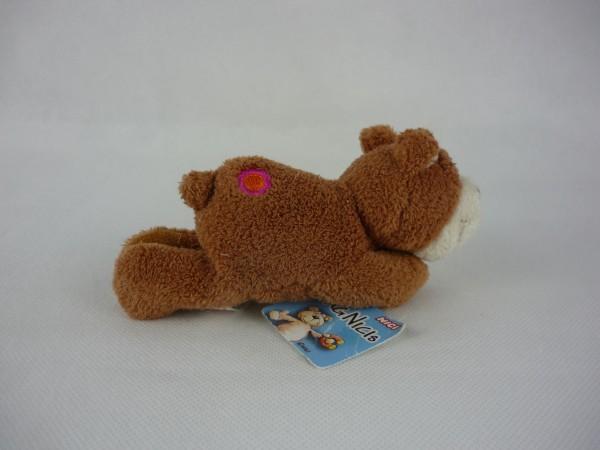 Nici 25810 MagNICI brauner Bär mit aufgestickter Blume Plüsch ca 12cm