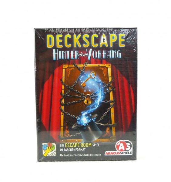 Deckscape - Escape Room im Taschenformat - Hinter dem Vorhang