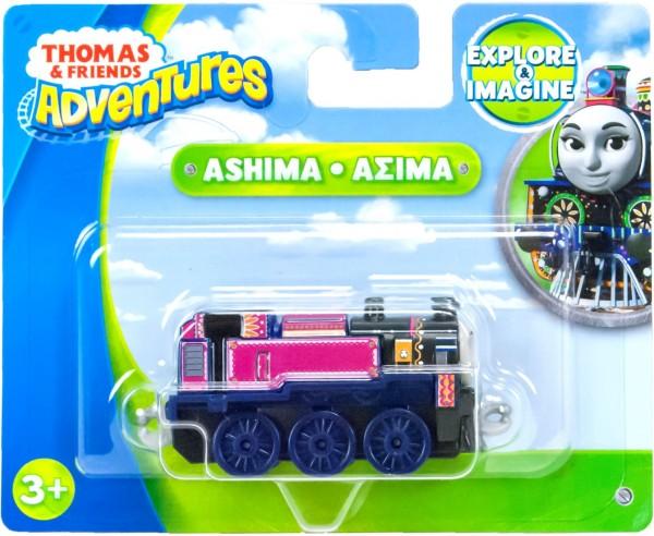 Thomas & Friends Adventures Eisenbahn Metall-Lokomotive Ashima FBC21