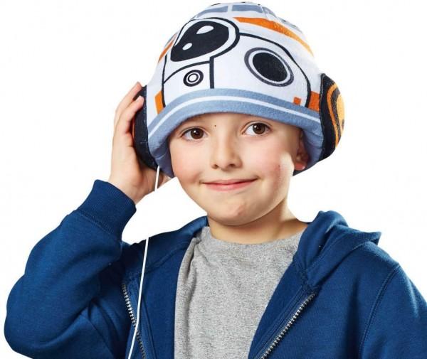 Star Wars BB-8 Kopfhörer Mütze für Kinder von 3-8 Jahren Einheitsgröße