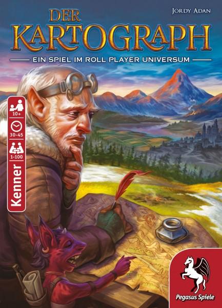 Pegasus Der Kartograph Flip & Write-Spiel für 1-100 Spieler ab 10 Jahren