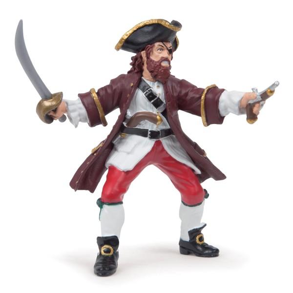 Papo 39428 Roter Barbarossa Spielfigur Piraten Actionfigur