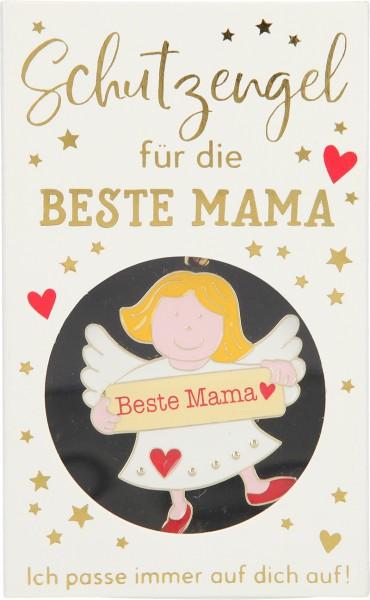 Depesche 10799 Schutzengel (Weiß) Schlüsselanhänger - Beste Mama
