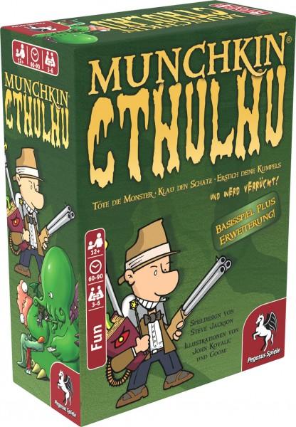 Munchkin Cthulhu 1+2 Kartenspiel plus Erweiterung Pegasus Spiele 17189G