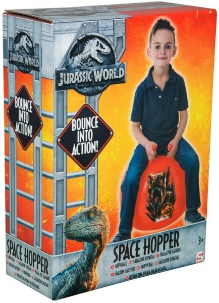 Jurassic World aufblasbarer Hüpfball Space Hopper Dinosaurier