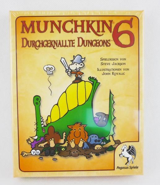 Munchkin 6 Erweiterung Durchgeknallte Dungeons Kartenspiel