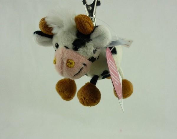 Schaffer 0241 Schlüsselanhänger Plüsch Kuh Alma ca 10cm
