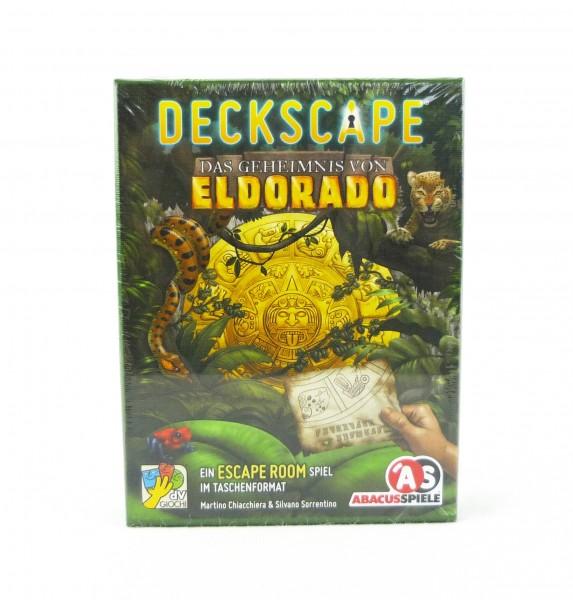 Deckscape - Escape Room im Taschenformat - Das Geheimnis von Eldorado