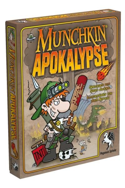 Munchkin Apokalypse Kartenspiel Pegasus Spiele 17240G