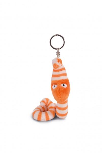 Nici 41892 Schlüsselanhänger Wurm Erwin Worm 10cm Plüsch Bean Bag