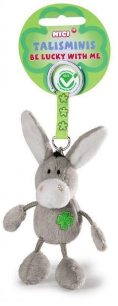 Nici 39524 Talisminis Schlüsselanhänger Keychain Esel Donkey 7cm Bean Bag