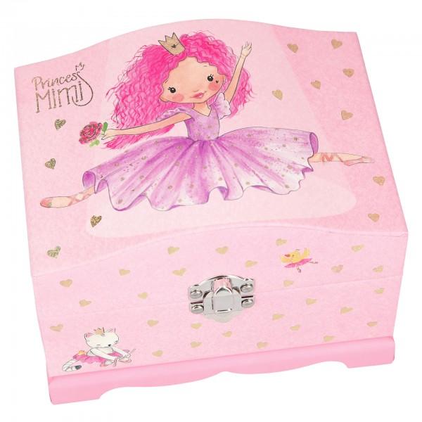 Princess Prinzessin Mimi Schmuckbox mit Licht rosa Depesche 10104