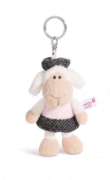 Nici 44262 Schlüsselanhänger Schaf Jolly Chic ca 10cm Plüsch Jolly Journey in Paris