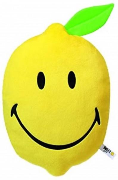 Nici 39316 Kissen Zitrone figürlich ca 38x27cm Plüsch Smiley World
