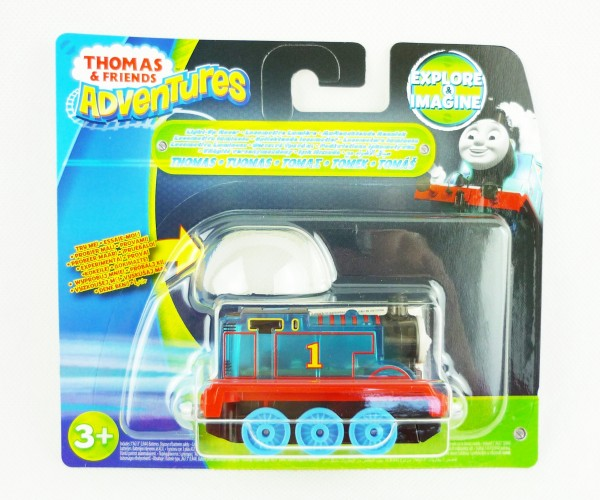 Thomas & Friends Adventures Eisenbahn Rennlok + Licht Thomas DXV21