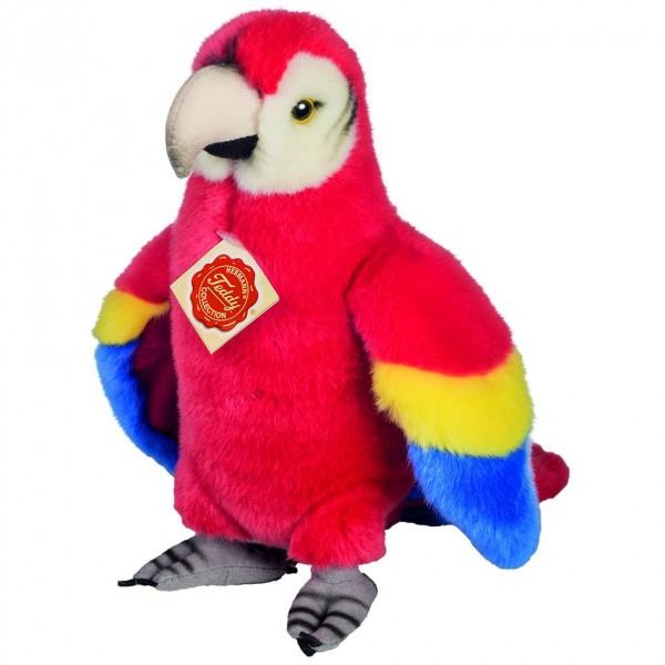 Teddy Hermann 94156 Papagei stehend ca. 24cm Plüsch