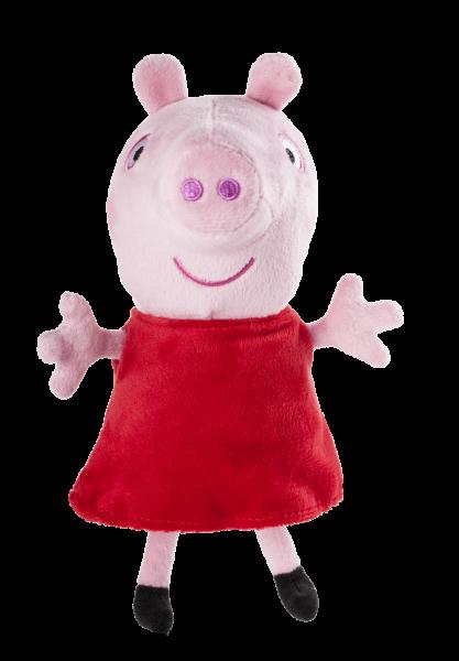Peppa Pig Wutz Kuscheltier mit Sound 15cm Plüsch Jazwares 92661 18m+