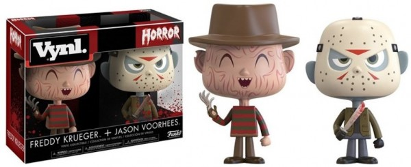 Funko Vinyl Horror Pack Freddy Krueger & Jason Voorhees Sammelfiguren