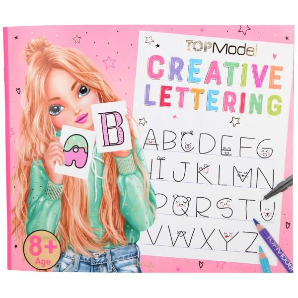 Depesche 10903 TOPModel Creative Lettering Malbuch Schönschrift
