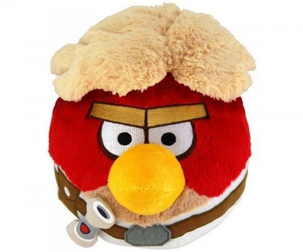 Angry Birds Star Wars 20cm Plüsch Kuscheltier Luke Skywalker 0+