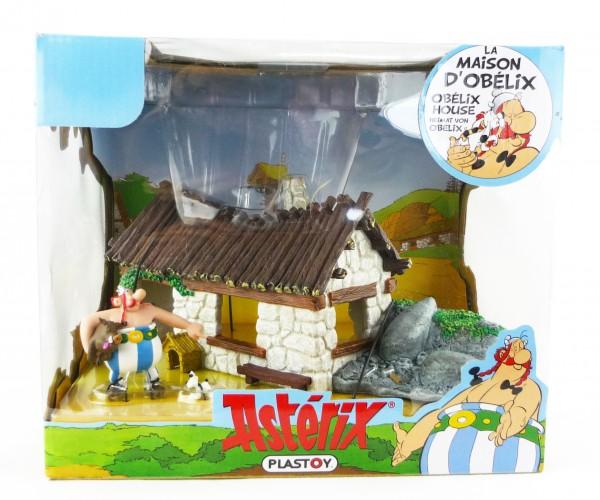 Asterix und Obelix Haus von Obelix Spielset inklusive Figuren Plastoy PLA60850