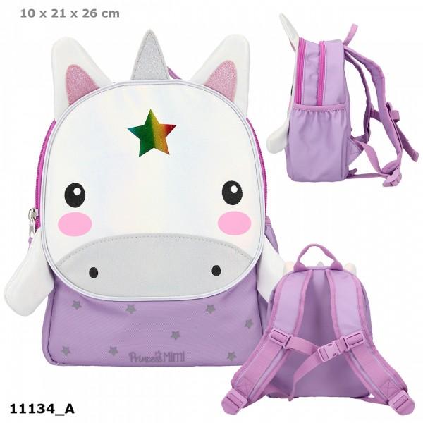 Depesche 11134 Princess Prinzessin Mimi Kindergarten-Rucksack Einhorn Bonny Pony