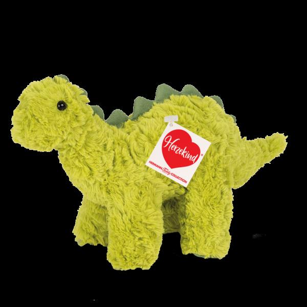 Teddy Hermann 93905 Dino Scotti Grün Plüsch Kuscheltier ca 32 cm