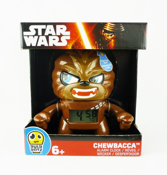 Star Wars Wecker Chewbacca Bulb Botz Alarm Clock Disney 2020077