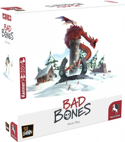Bad Bones Brettspiel Gesellschaftsspiel 1-6 Spieler ab 8 Jahren