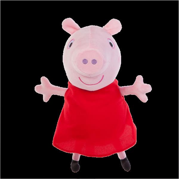 Peppa Pig Plüschfigur mit Sound ca 30cm Jazwares PEP0514 - Peppa