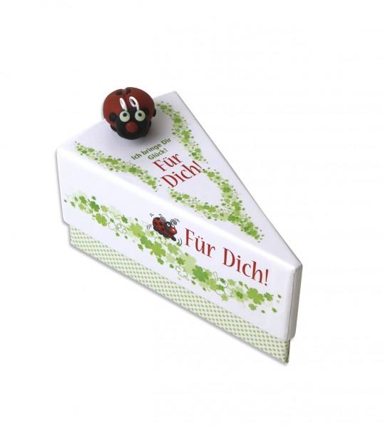 Geschenkschachtel Tortenstück - Für Dich! 1281