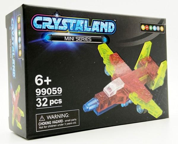 N-Brix Crystaland Mini Series Bausteine - 99059 Passagierflugzeug (32 Teile)