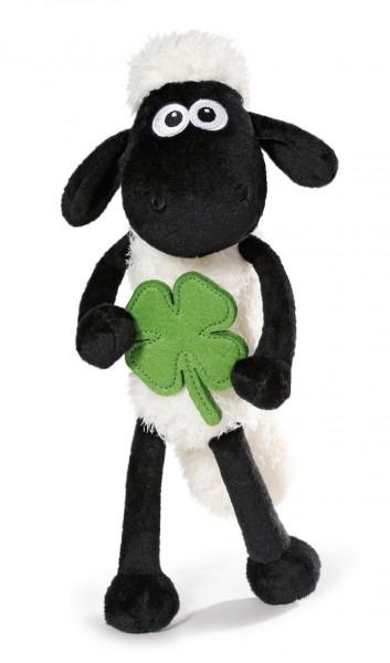 Nici 40667 Shaun das Schaf mit Glücks - Kleeblatt ca 35cm Schlenker Plüsch