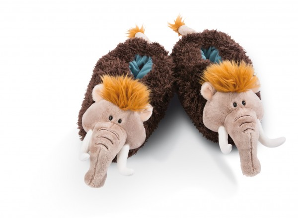 Nici 45325 Hausschuhe Mammut Elke Größe 34-37 Stone Age Plüsch