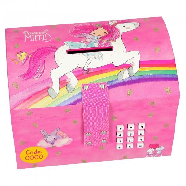 Princess Prinzessin Mimi Spartruhe mit Code & Sound rosa mit Pferd 8783
