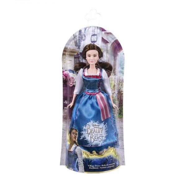 Disney Die Schöne und Das Biest Puppe Belle im Dorfkleid Hasbro B9164EU4