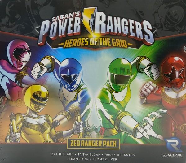 Power Rangers: Heroes of the Grid - Zeo Ranger Pack