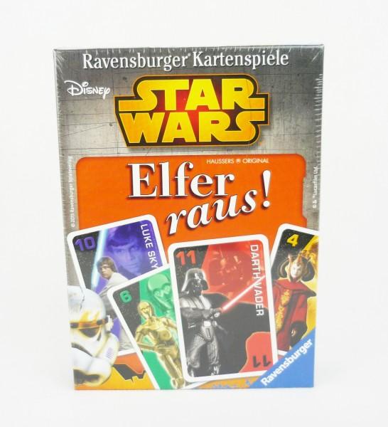 Disney Star Wars Elfer raus! Ravensburger Kartenspiele für 2-6 Spieler
