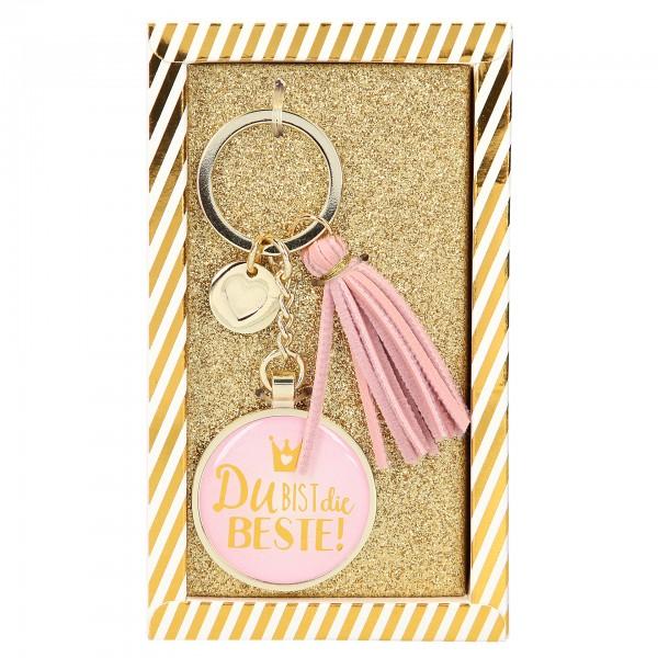 Depesche 10268 Glamour Schlüsselanhänger - Du bist die Beste